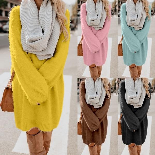 Plus Size, fashion women, Women Sweater, sweater dress