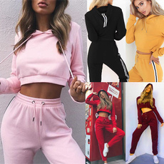 Two-Piece Suits, sport pants, pants, Long Sleeve