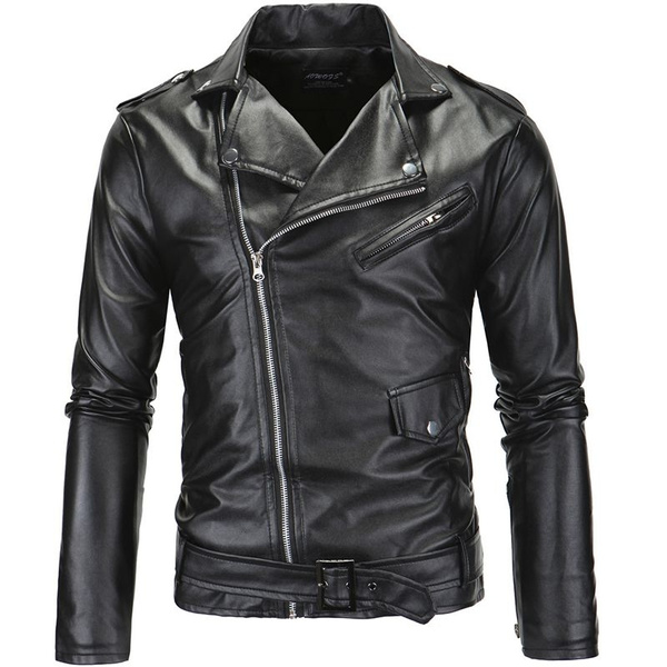 motorcyclejacket, waterproofjacket, Spring/Autumn, leather