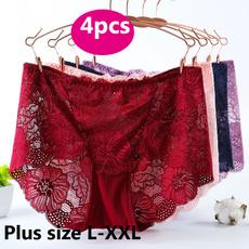 Underwear, Panties, high waist, Lace