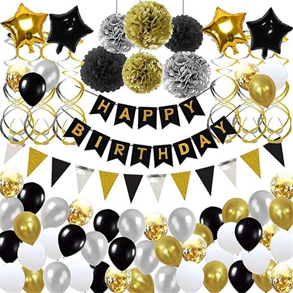 balloonslatex, birthdaydecor, partydecor, happybirthdayballoon