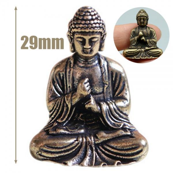Brass, buddhastatue, Chinese, Ornament