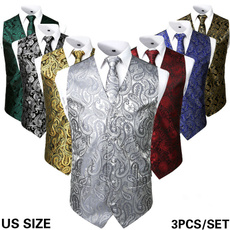 Vest, Dress Shirt, Necktie, Tuxedos