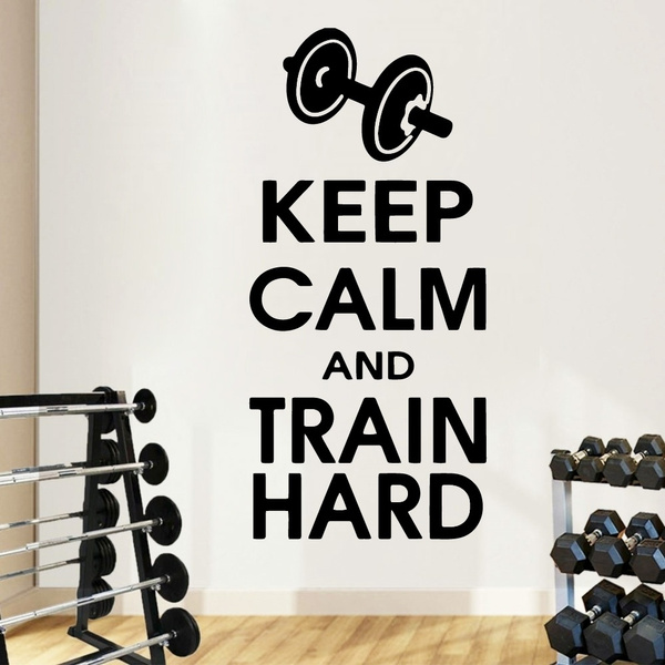 decoration, Fitness, Wall Decal, Modern