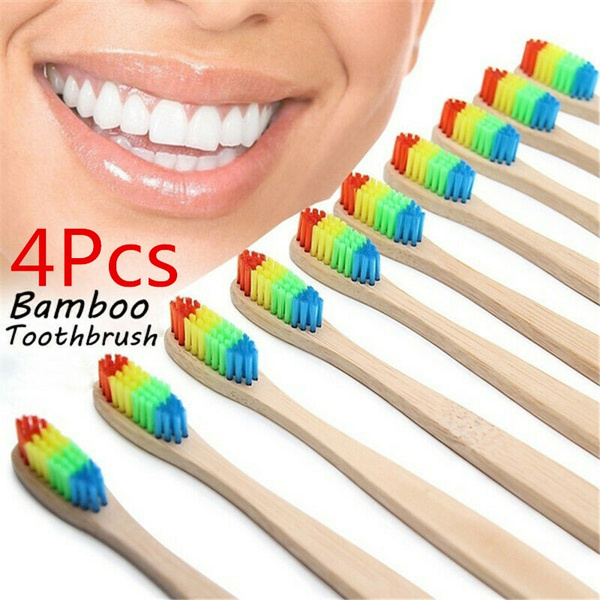 rainbow, Medium, teethwhitening, Wooden