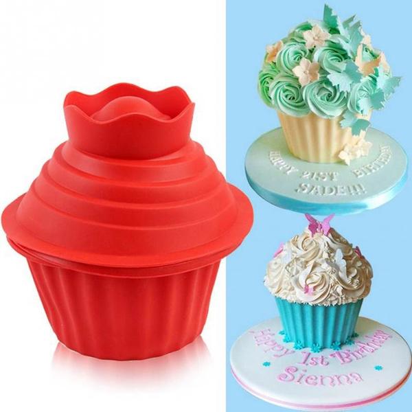 moussecakemold, cupcakedecorationmold, Baking, Silicone
