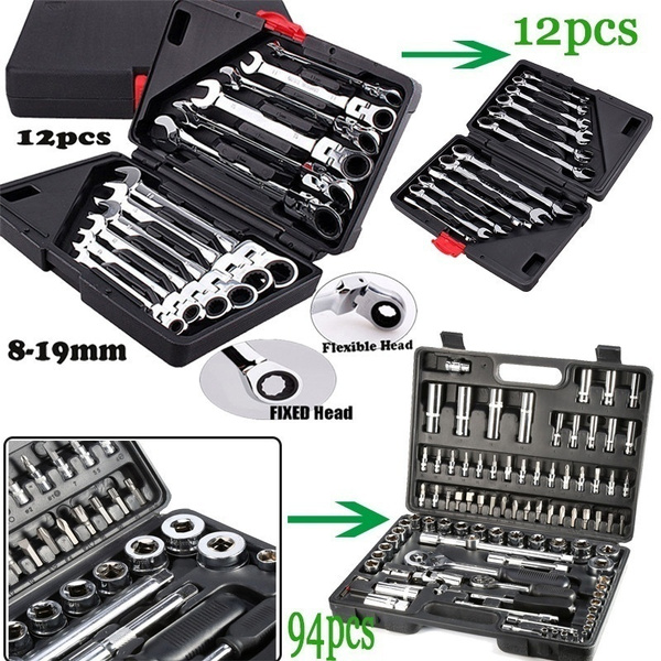 wrenchspanner, wrenchsocket, Sockets, socketratchet
