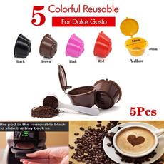 Coffee, Cup, reusablecoffeecapsulecup, Colorful