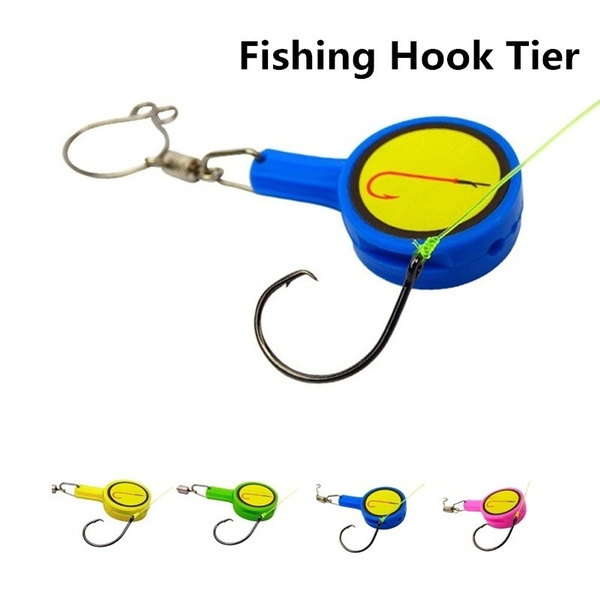 Fishing Gear Knot Tying ToolCover Hook Fishing Rods Line Cutter WC WC