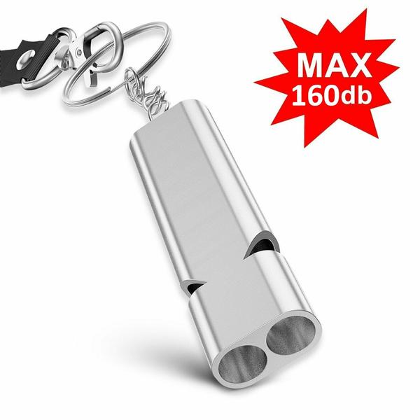 doubleholewhistle, Outdoor, Key Chain, lifsavingkit
