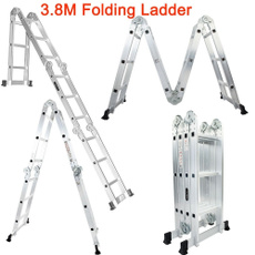 Exterior, Household, householdgadget, aluminumfoldingladder