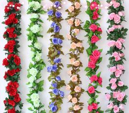rosegarland, Decor, Flowers, ivyvinegarland