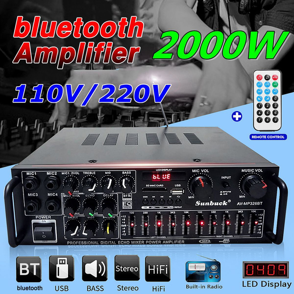 Microphone, Remote, usb, amplifierbluetooth