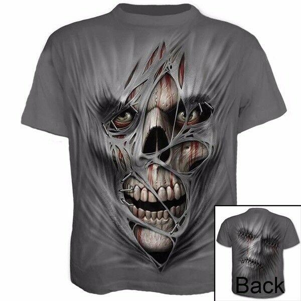 skullprinted, shirtsforman, skull, Sleeve