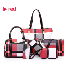 women bags, leather wallet, Fashion, checked