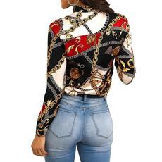 Fashion, Clothing for women, Chain, Women Blouse