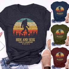 Summer, sasquatchshirt, Cotton Shirt, Shirt