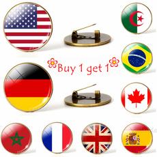Канада, Бразилія, brooches, Італія