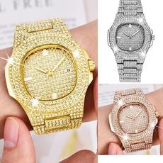 goldplated, watchformen, DIAMOND, Jewelry