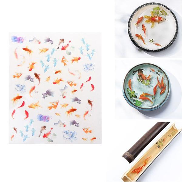 jewelrymakingtool, 3dgoldfishclearfilm, filler, Stickers
