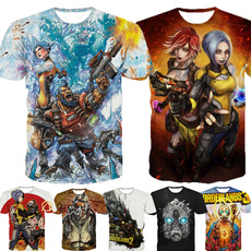 borderlandstshirt, wholesaleborderlands3, summer t-shirts, Shirt