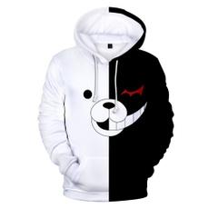danganronpa, 3D hoodies, Fashion, Cosplay