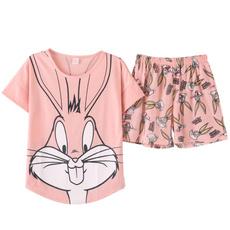 pink, Summer, Polyester, Shorts