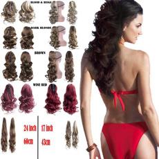 wighorsetail, wig, Hairpieces, hairbun