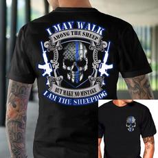 sheepdogtshirt, Cotton, Cotton T Shirt, skulltshirt