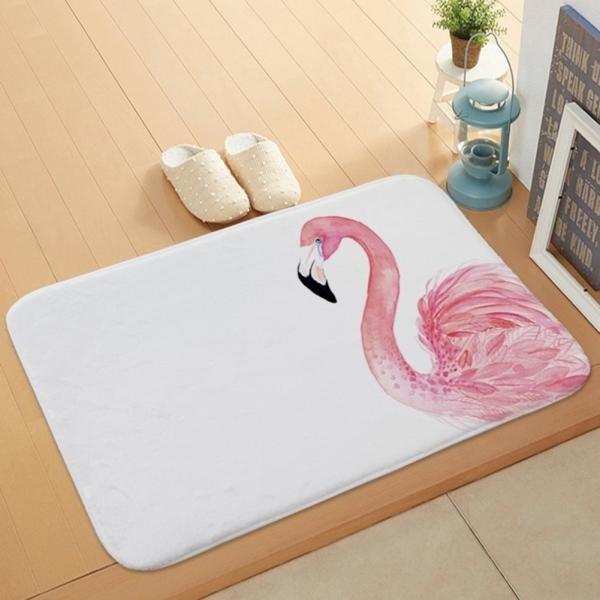 cute, Decor, flamingo, Mats