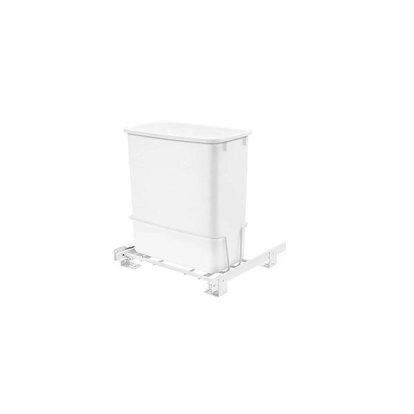 trashcancabinetgarbagekitchenundersink, Shelf, white, vanity