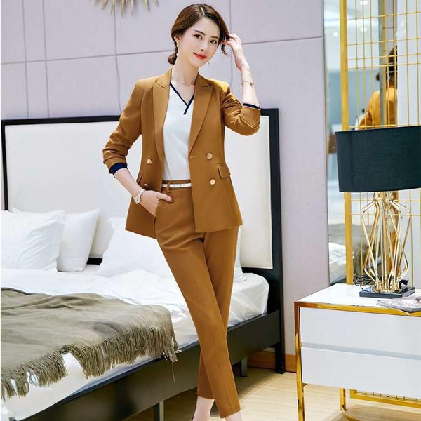 Women, Fashion, formalblazerssuit, women pants suit