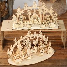 snowman, decoration, Christmas, Tables