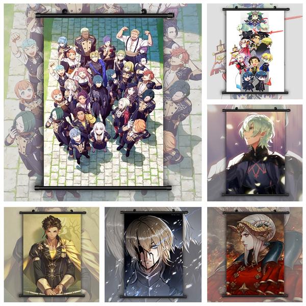 animescroll, decoration, art, Wall Art
