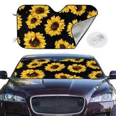 protect, Sunflowers, Cars, uv