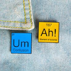 sciencebrooch, Funny, funnybrooch, giftforstudent
