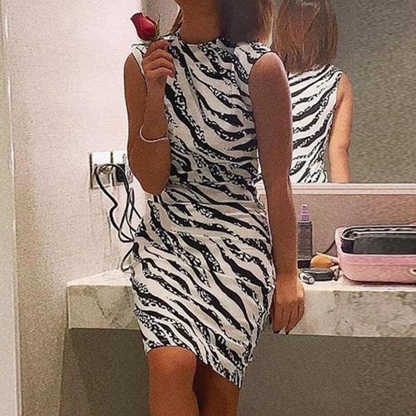 slim dress, Fashion, zebradre, long dress