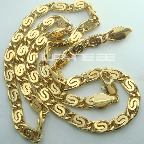 yellow gold, Chain Necklace, necklaces for men, Jewelry
