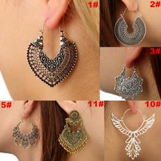 Antique, Hoop Earring, Dangle Earring, Jewelry