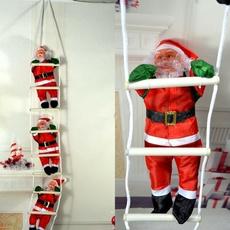 Fashion, Christmas, stair, Santa Claus