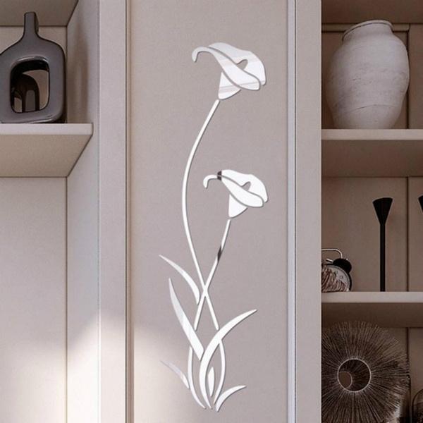 Flowers, Home Decor, Home & Living, Stickers