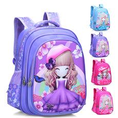 cute, School, Princess, Cartoon Backpack