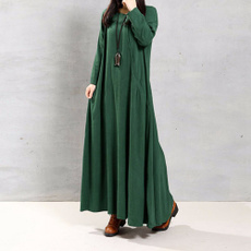 Fashion, Winter, Long Sleeve, women dresses