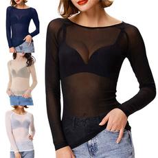 blouse, Plus Size, women crop top, Sleeve