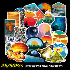 Car Sticker, suitcasesticker, Cars, cartoonssticker