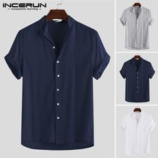 Summer, Shorts, Man Shirts, Shirt