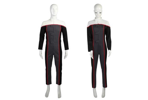 Silver Basic Star Trek Unisexe Couple Sweat Oversize Imprim/é 3D avec Poche Kangourou Cosplay Costume Personnalis/é