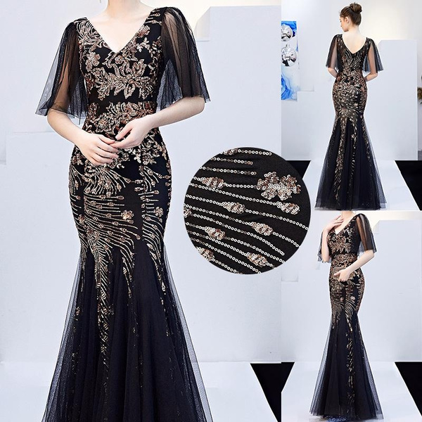 gowns, chiffon, Evening Dress, Dress