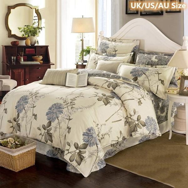 beddingkingsize, King, Flowers, Bedding