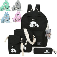 women's shoulder bags, student backpacks, School, Fashion